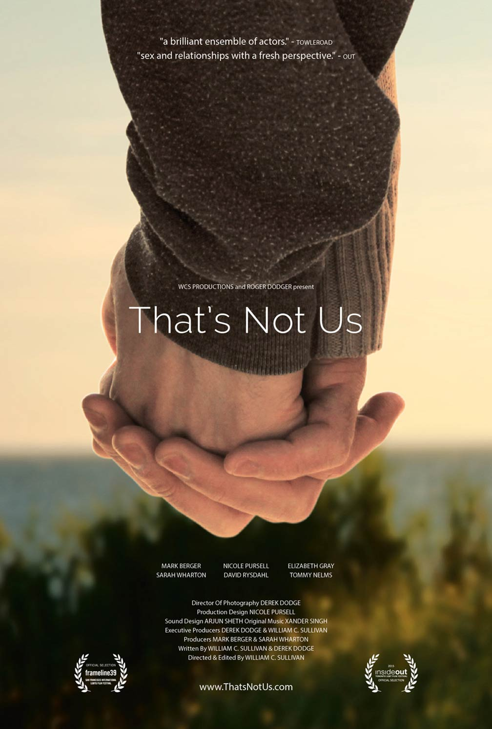 That's Not Us Poster #1