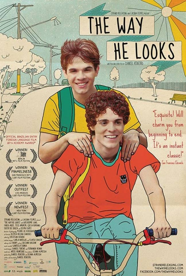 The Way He Looks Poster #1