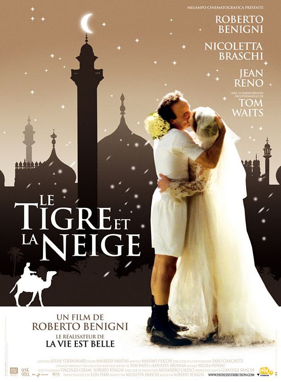 The Tiger and the Snow Poster #1