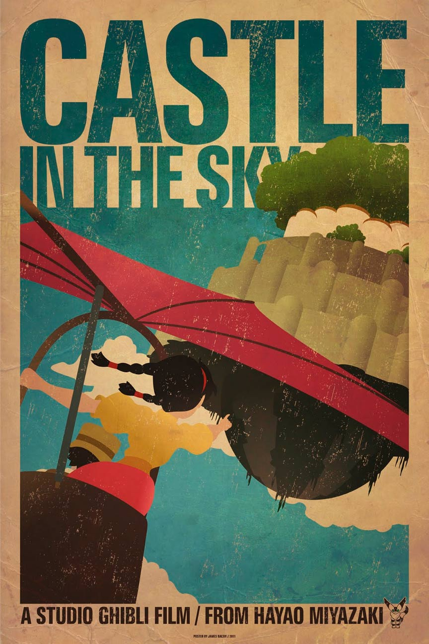 Castle in the Sky Poster #3