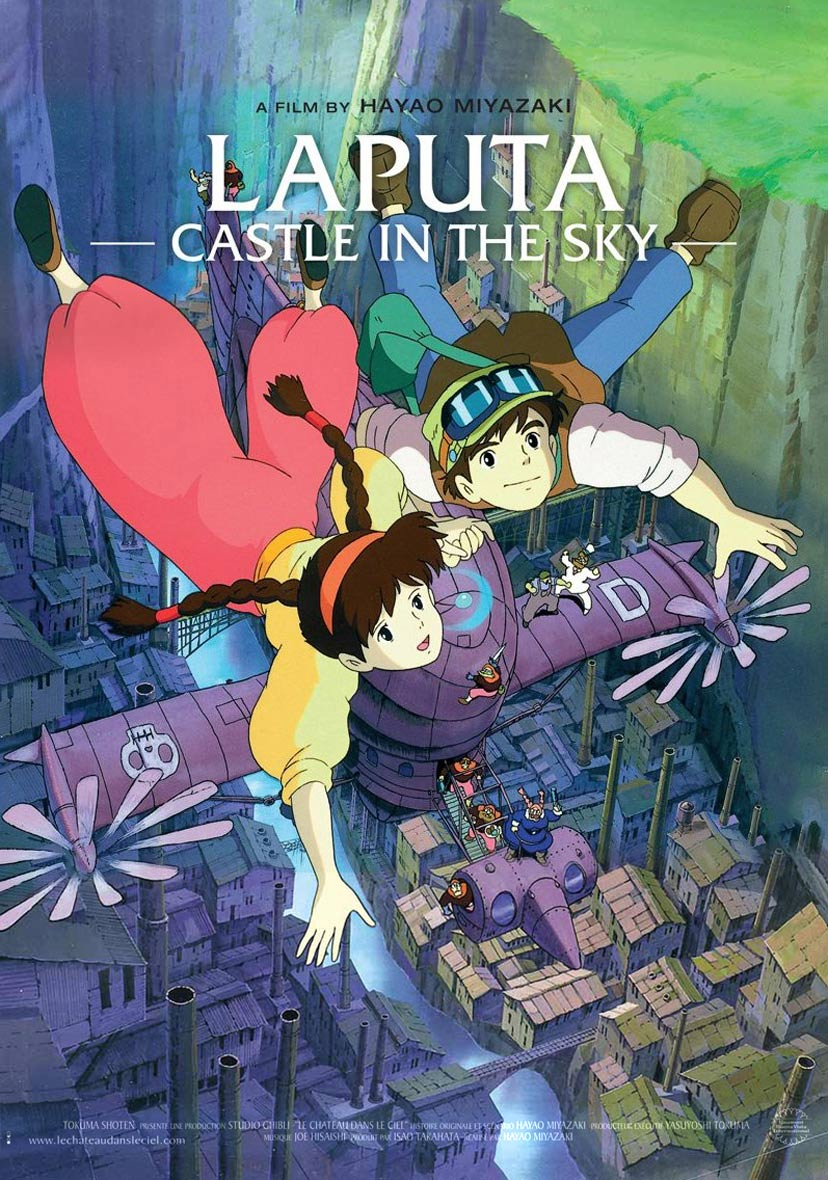 Image result for Castle in the Sky (1986) poster