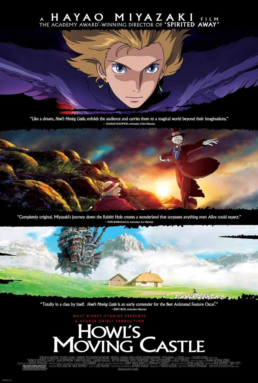 Howl's Moving Castle Poster #1