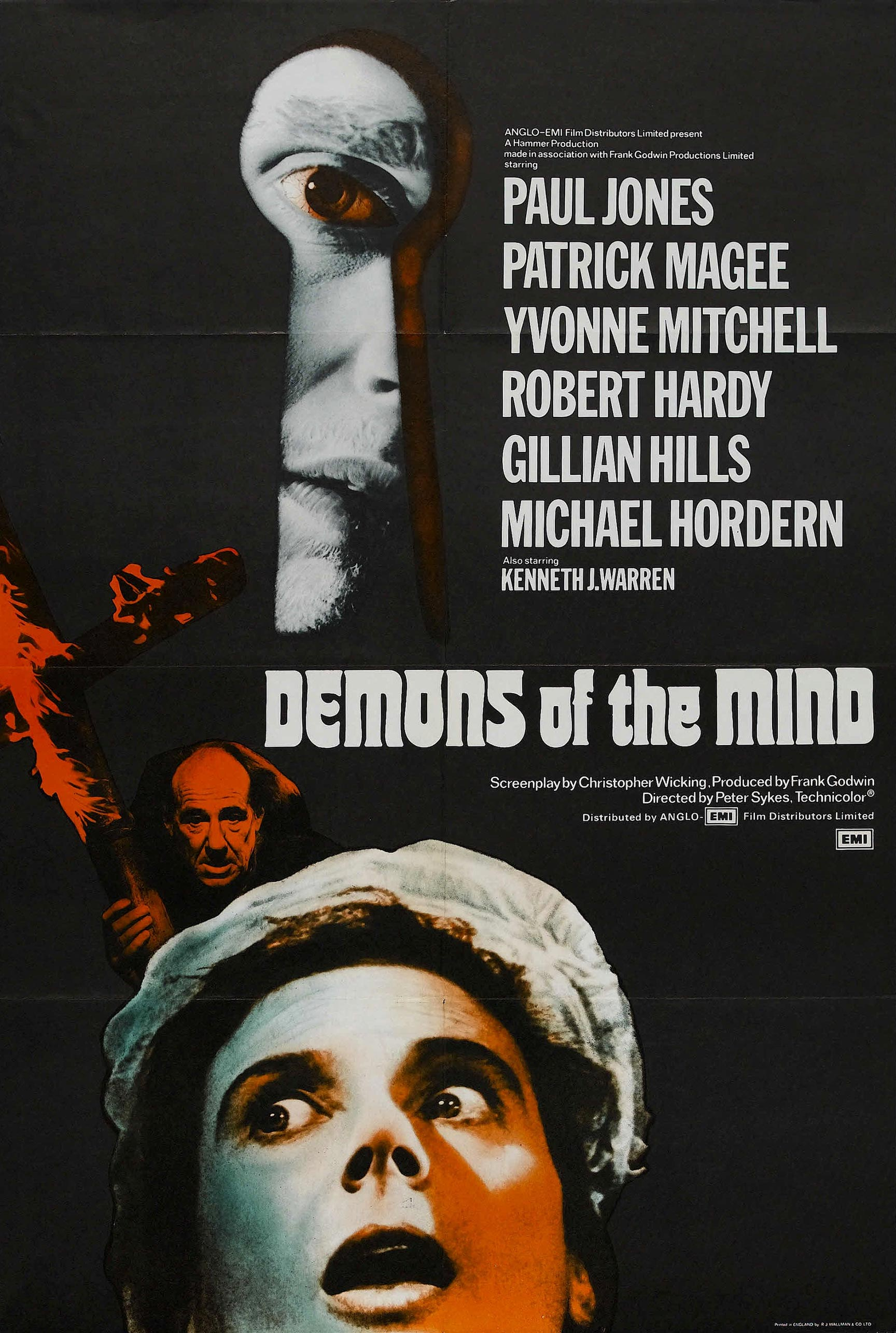 Demons of the Mind Poster #1