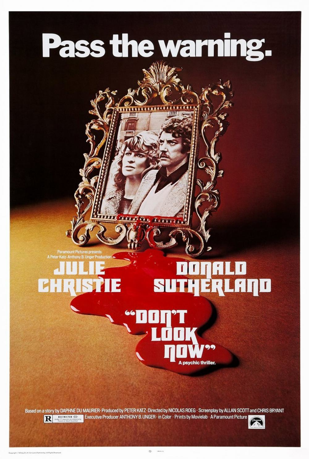 Don't Look Now Poster #1
