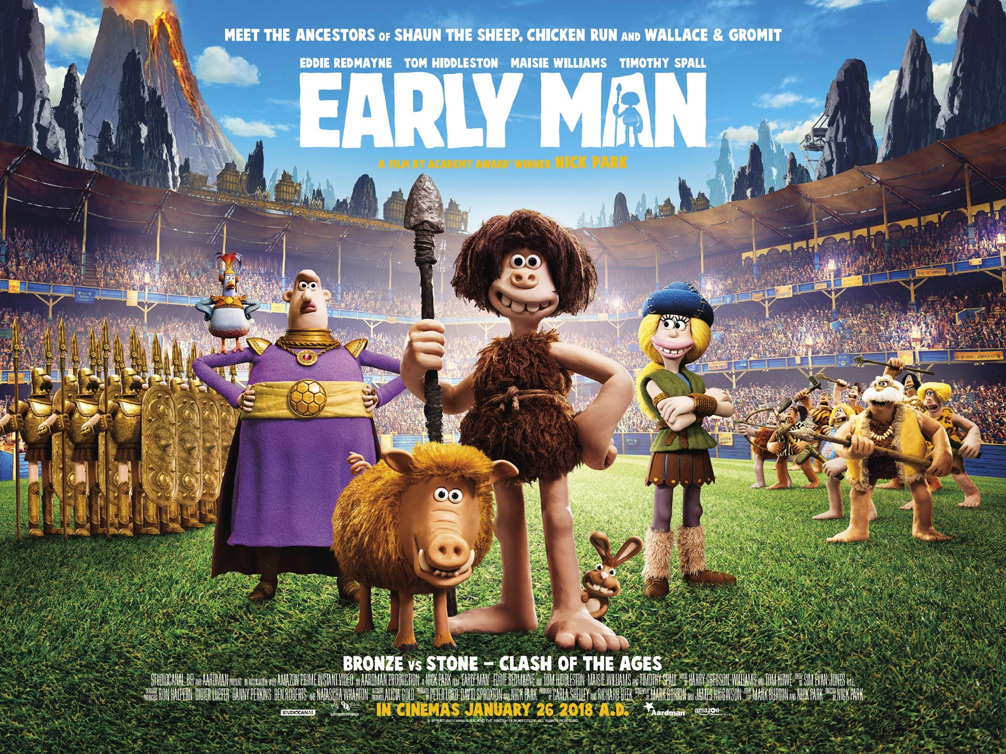 Early Man Poster #9