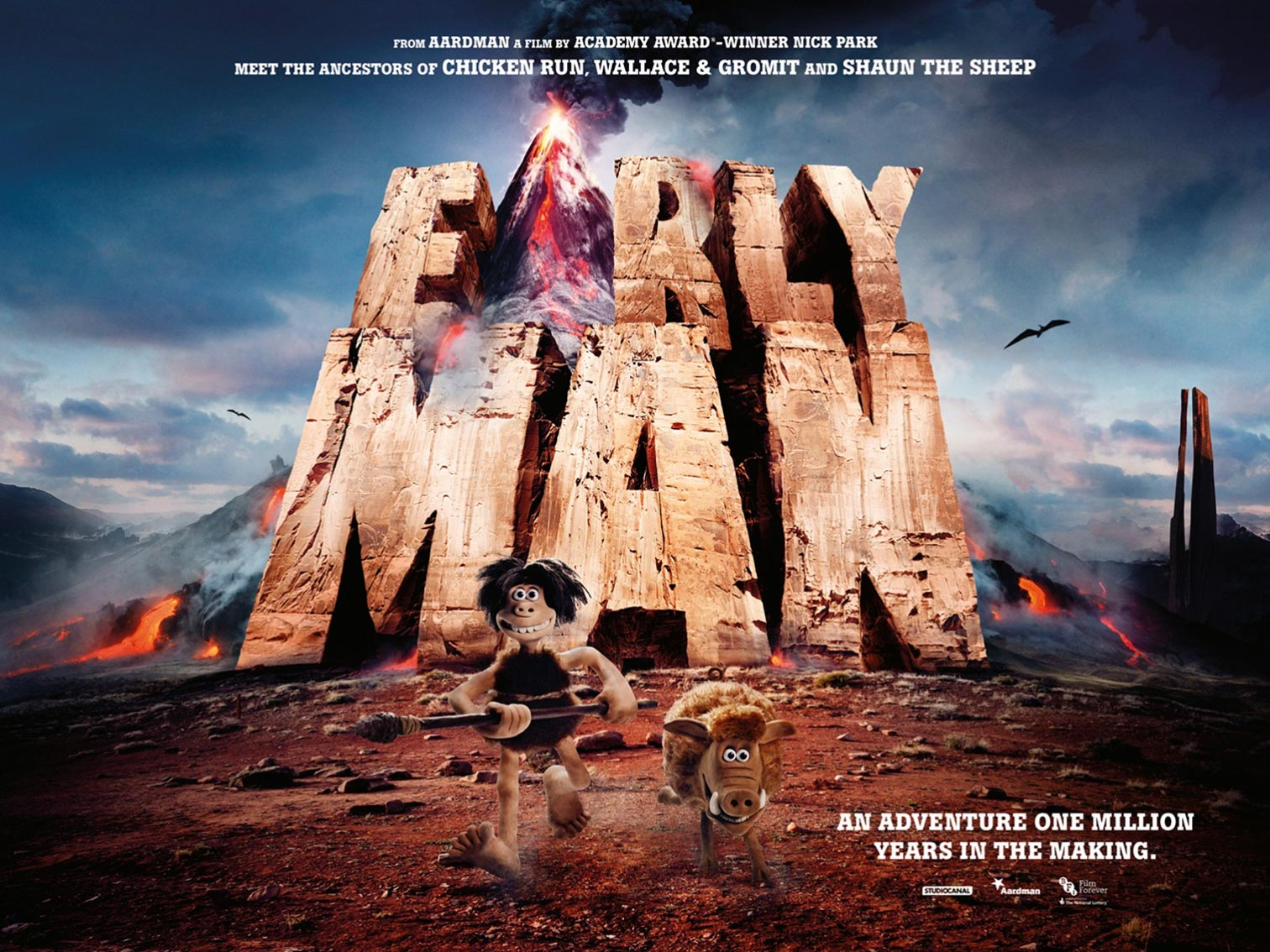 Early Man Poster #1