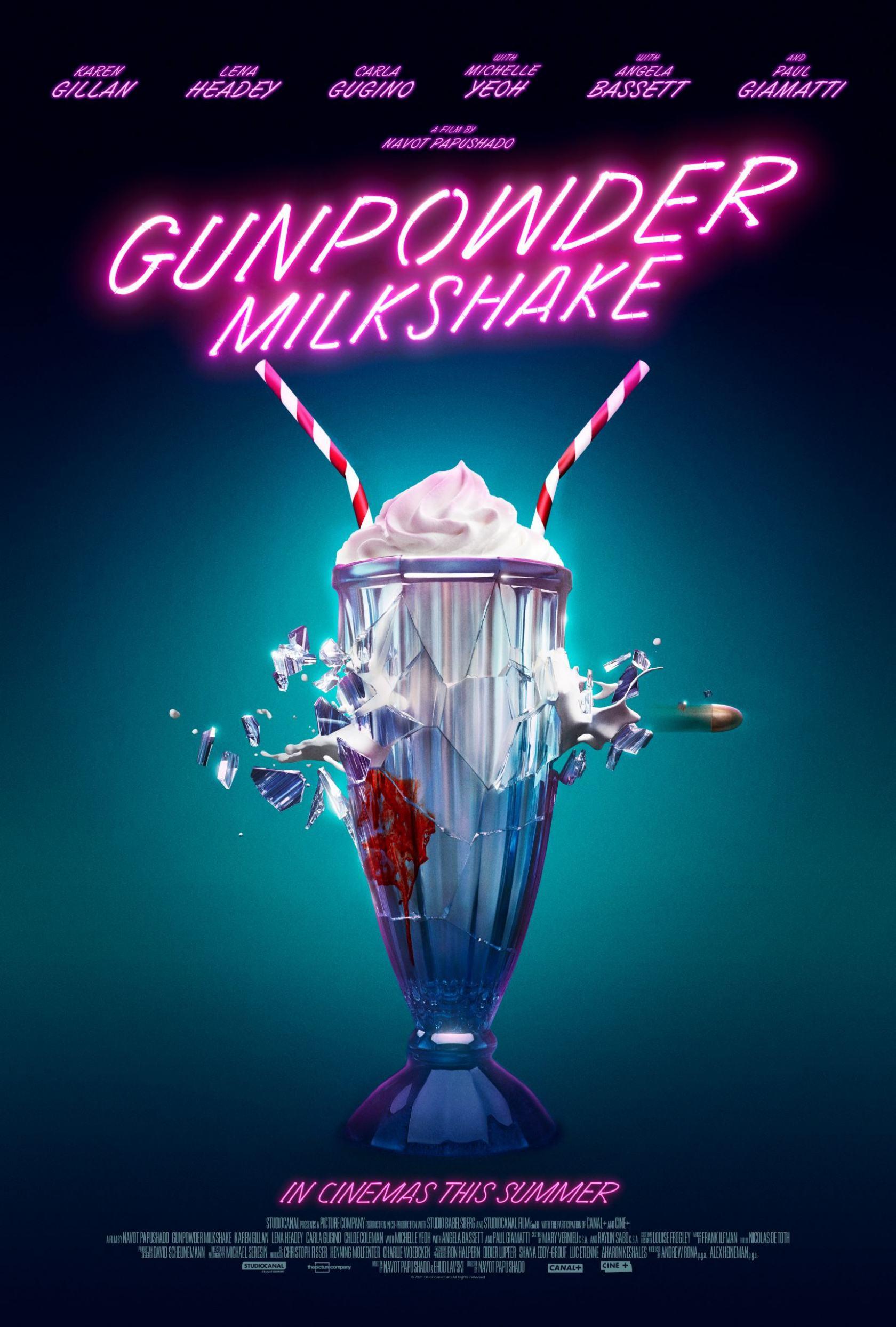 Gunpowder Milkshake Poster #1