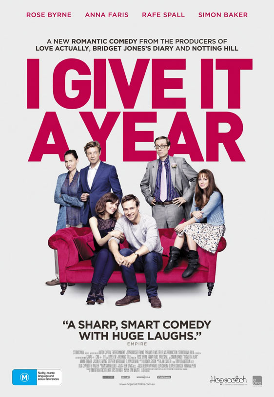 I Give It a Year Poster #2