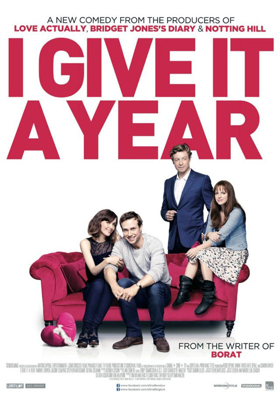 I Give It a Year Poster #1