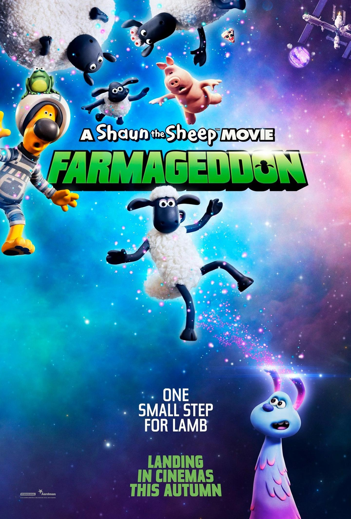 Shaun the Sheep Movie: Farmageddon Poster #2