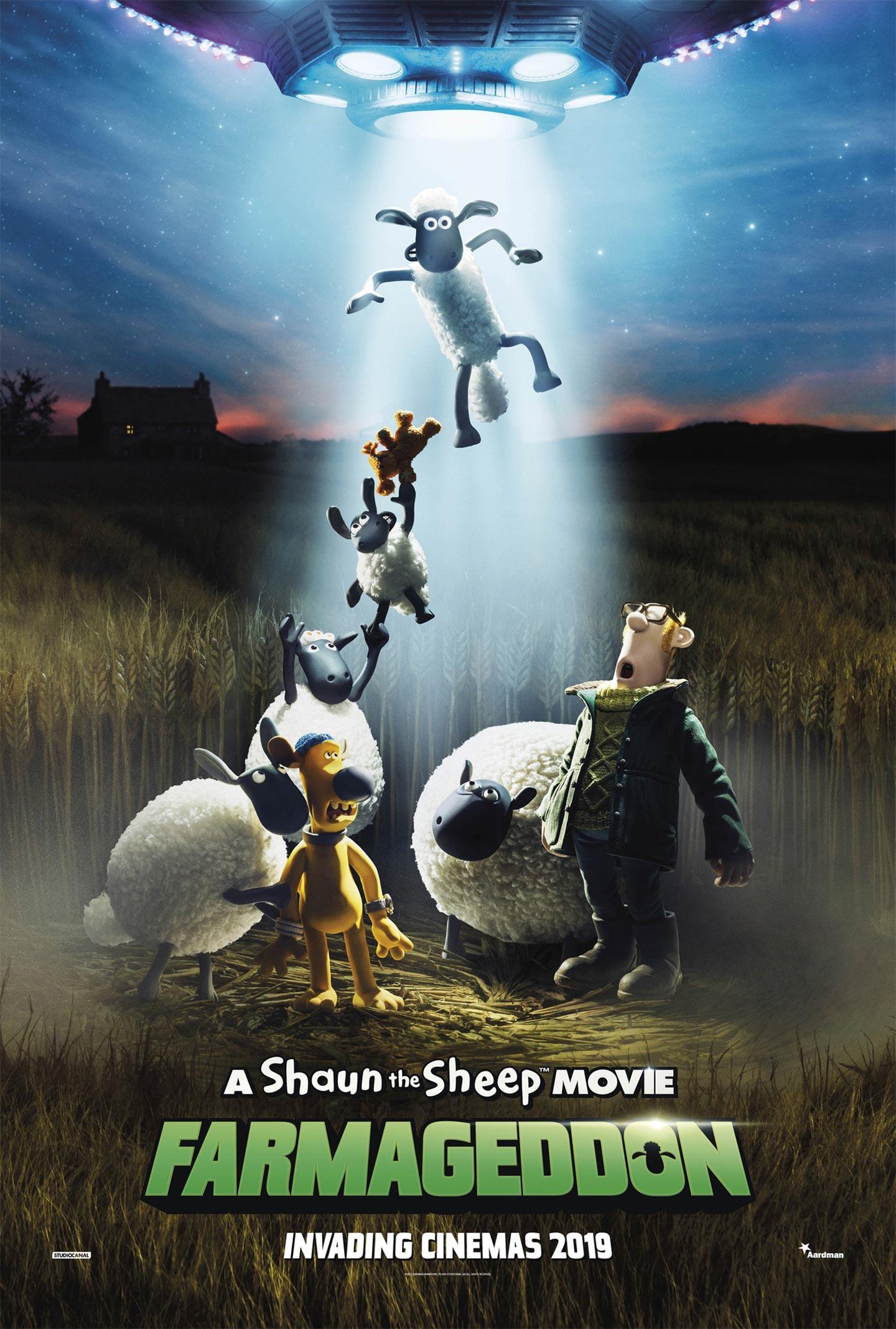 Shaun the Sheep Movie: Farmageddon Poster #1