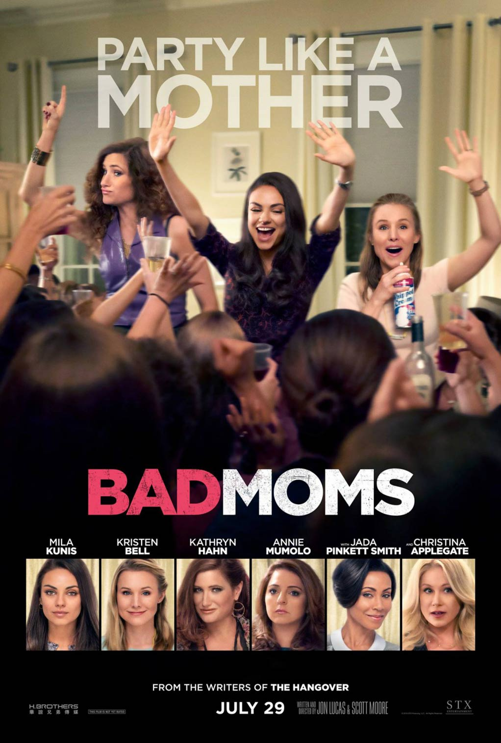 Bad Moms Poster #1