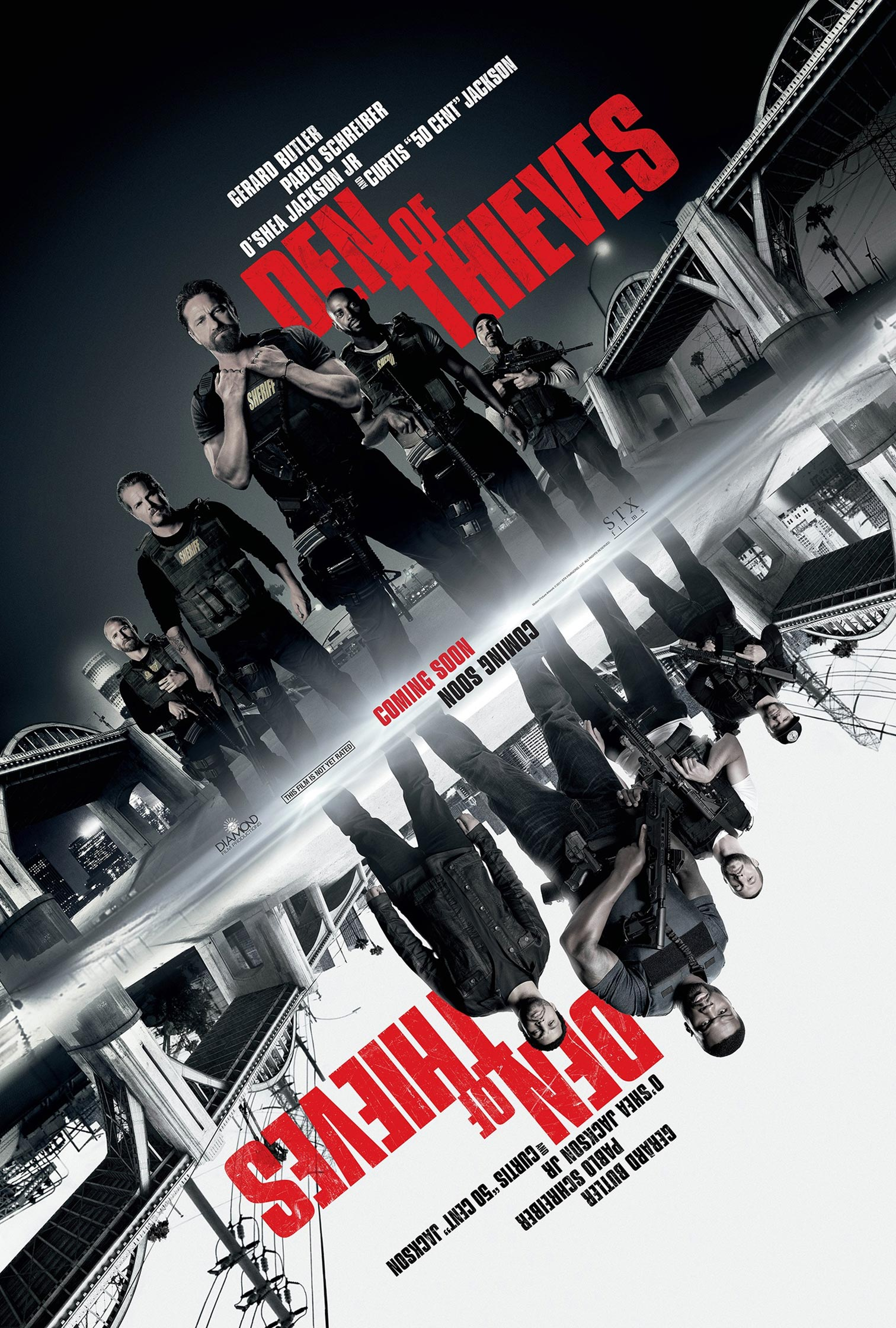 Den of Thieves Poster #2