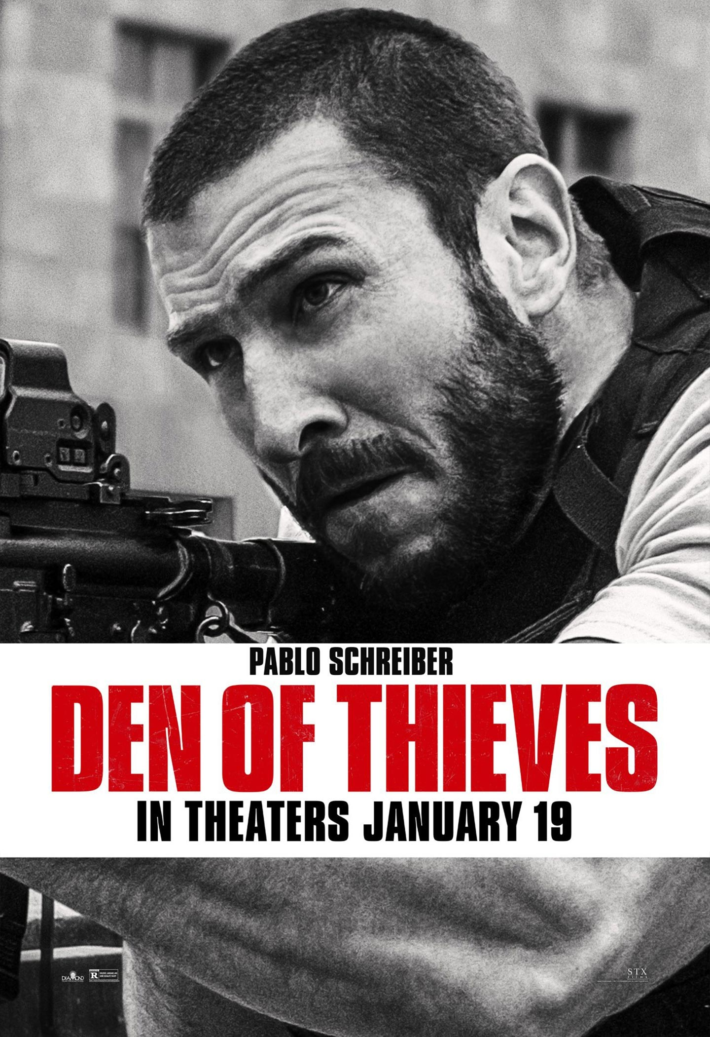 Den of Thieves Poster #3