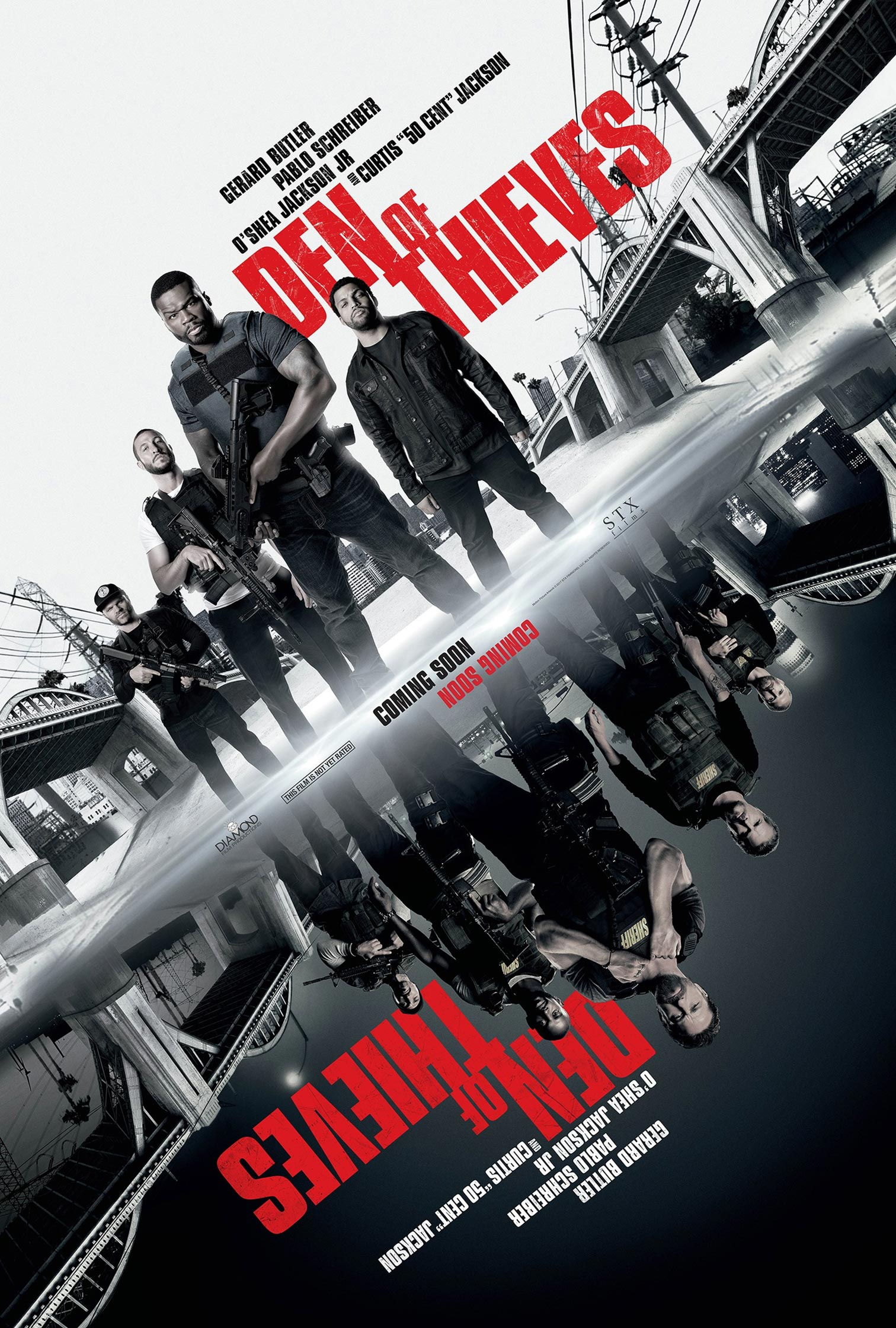 Den of Thieves Poster #1