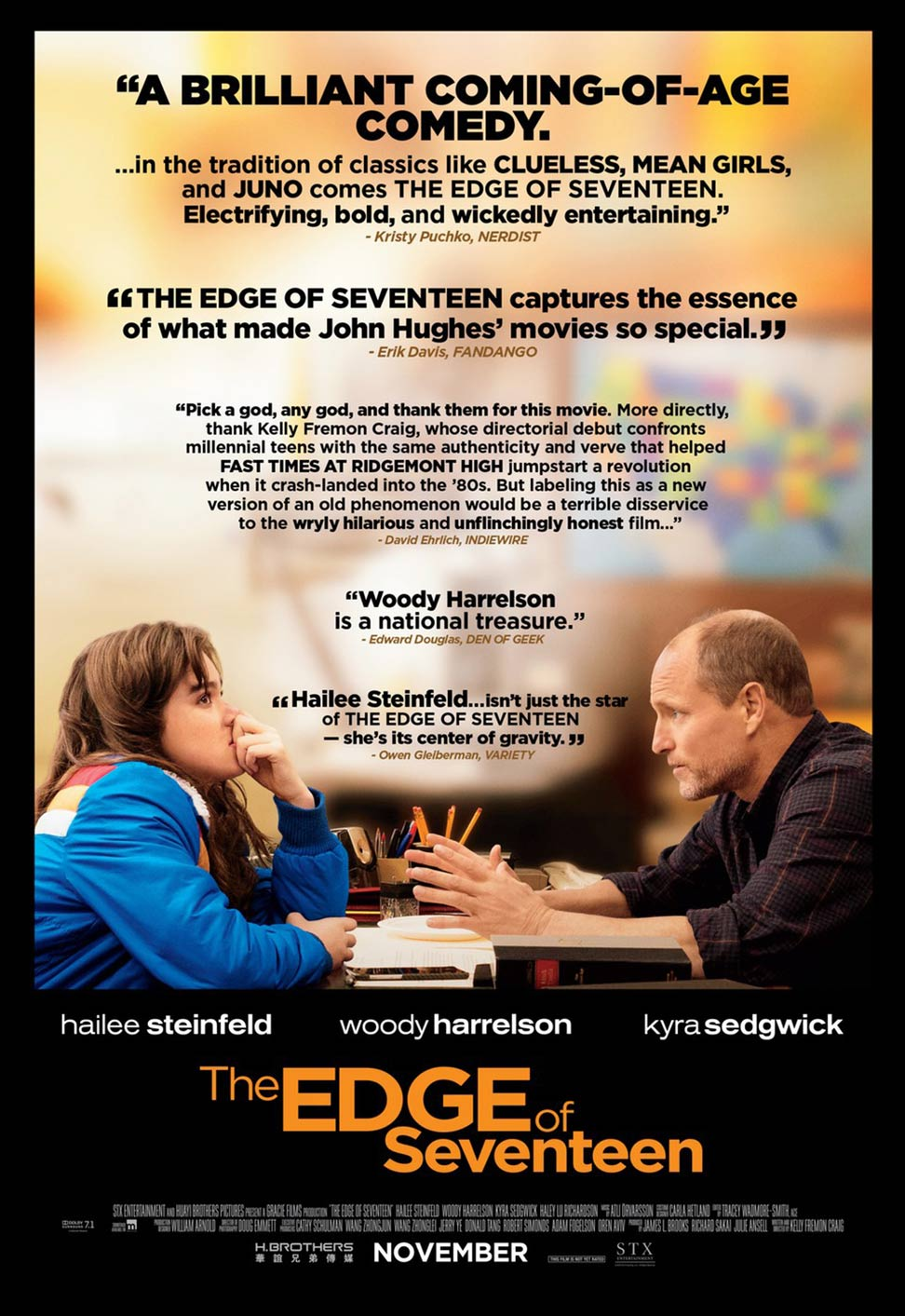The Edge of Seventeen Poster #2