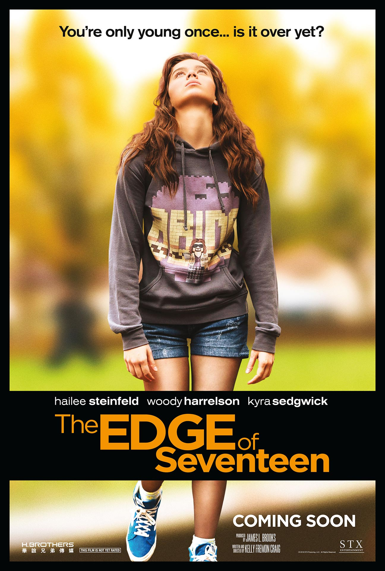 The Edge of Seventeen Poster #1