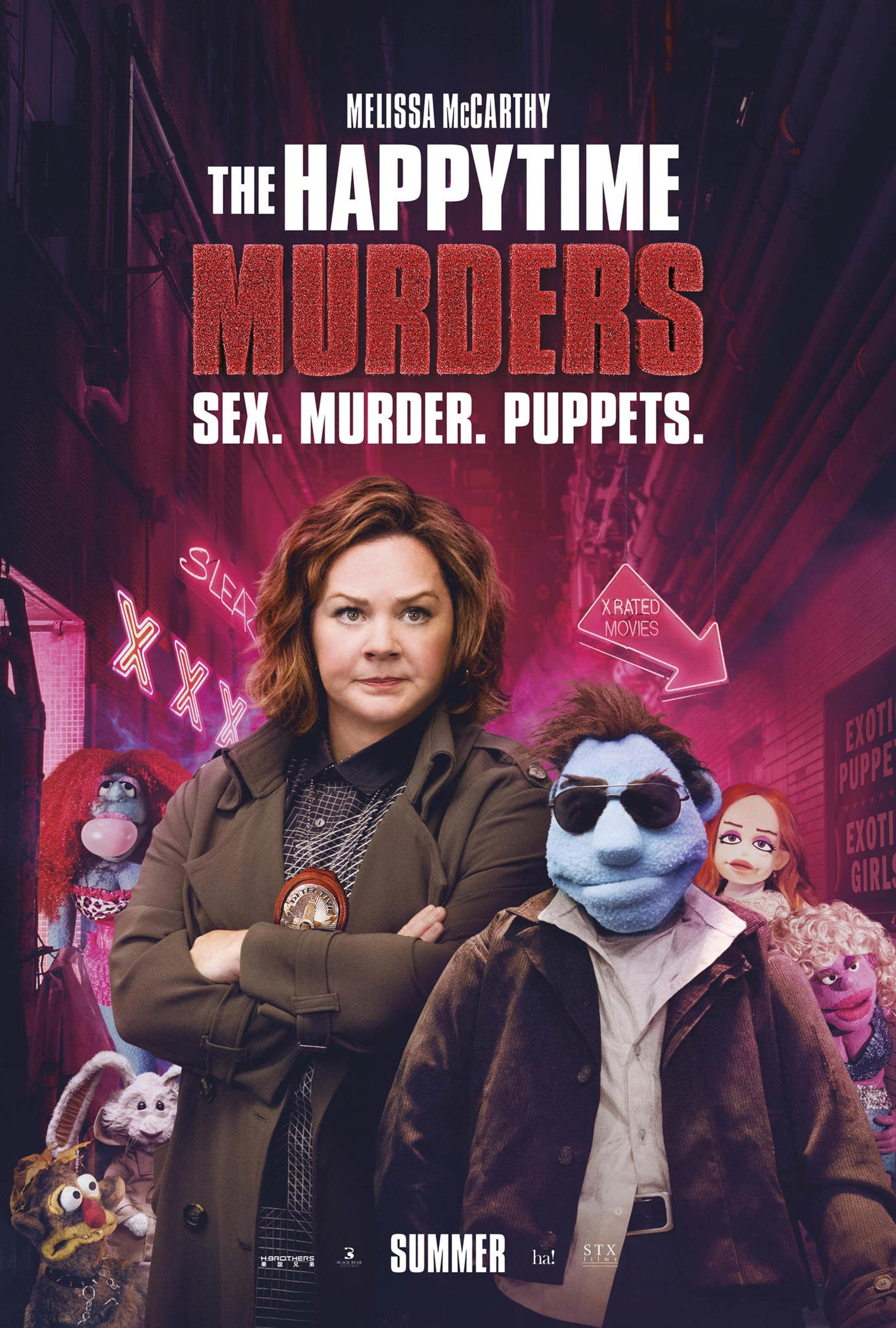 The Happytime Murders Poster #2