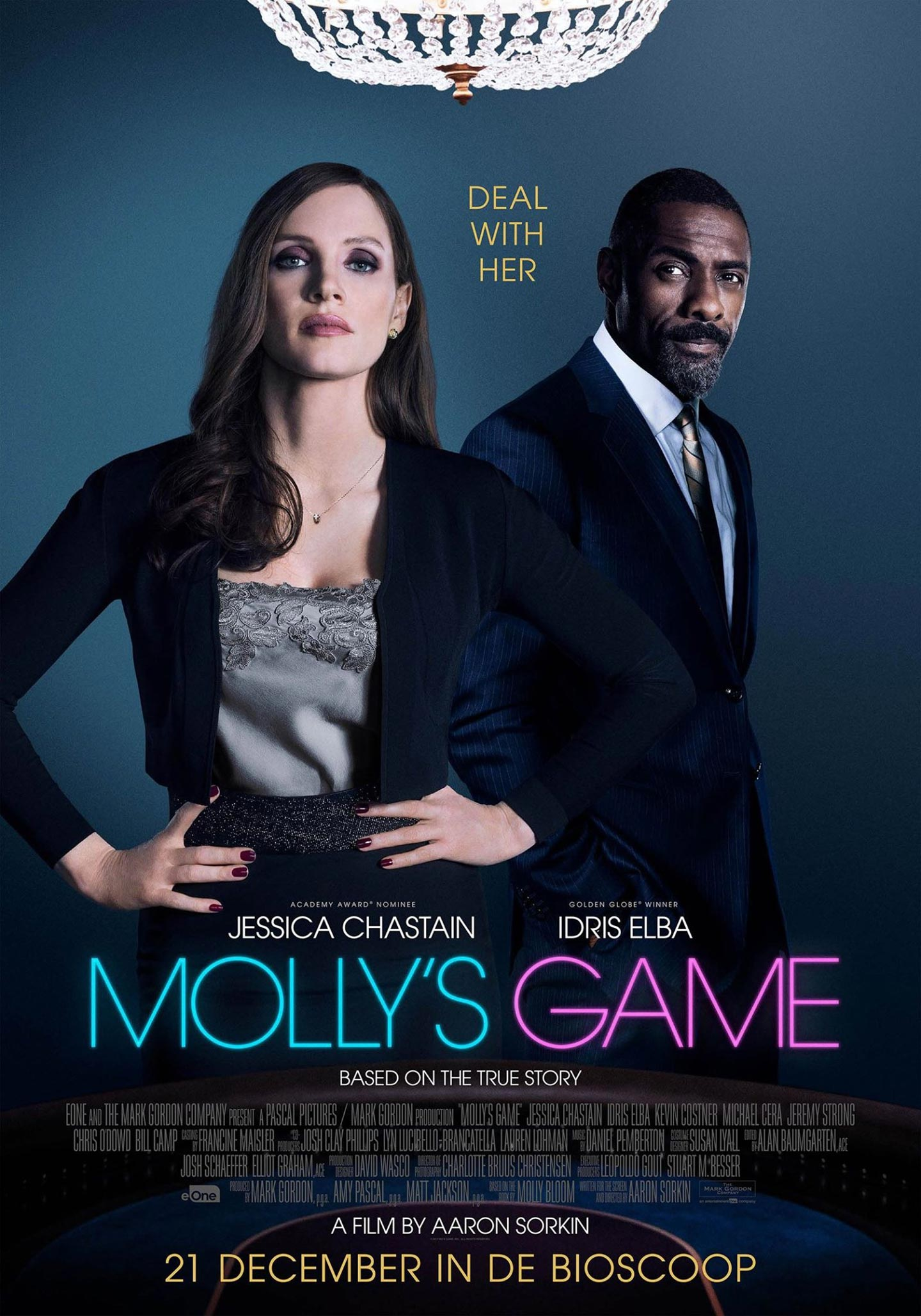 Molly's Game Poster #2