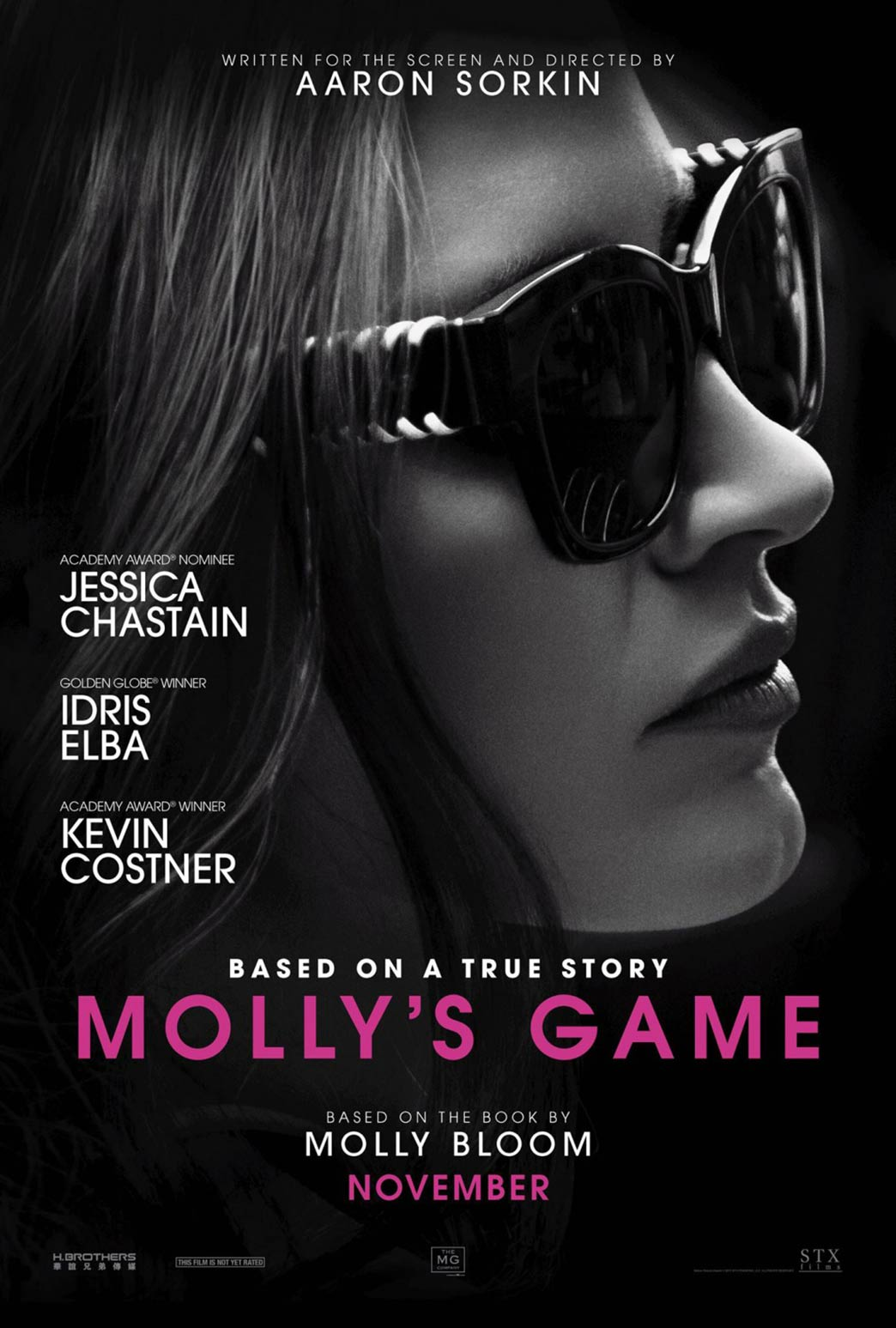 Molly's Game Poster #1