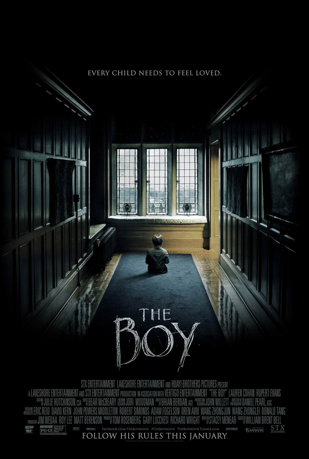 The Boy (2016) Poster #1 - Trailer Addict