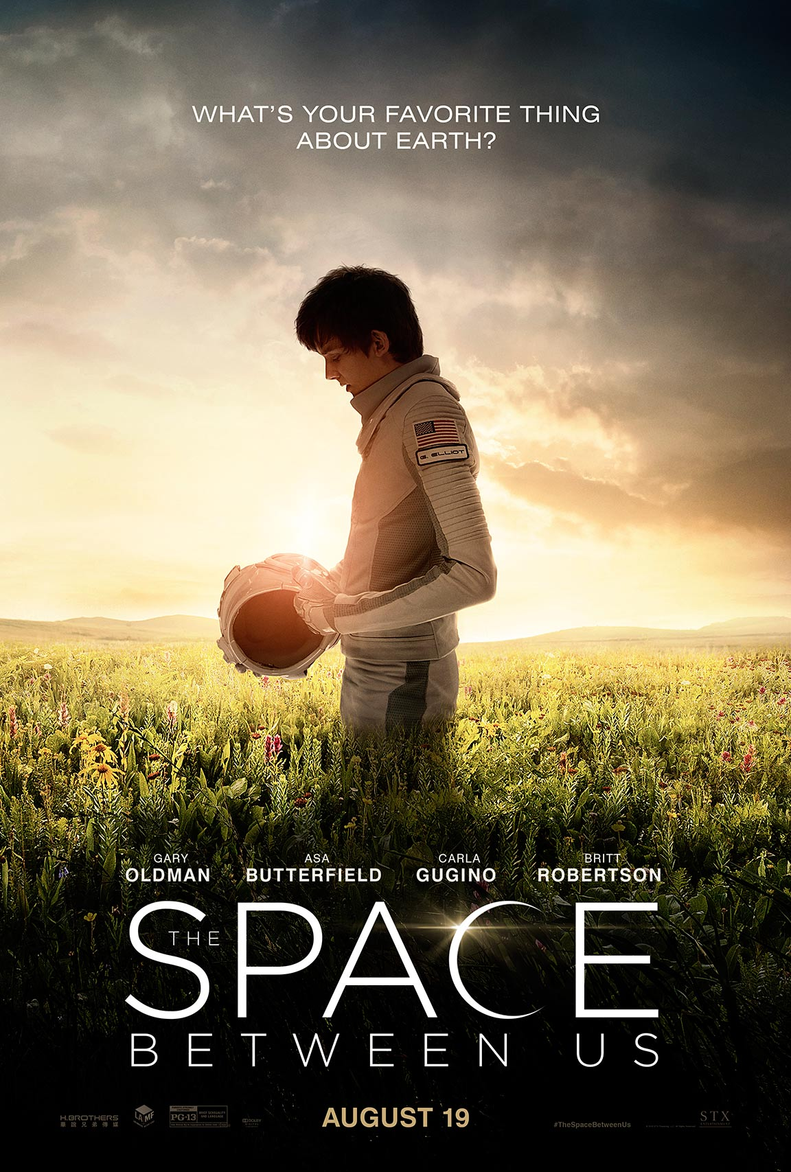 The Space Between Us Poster #1