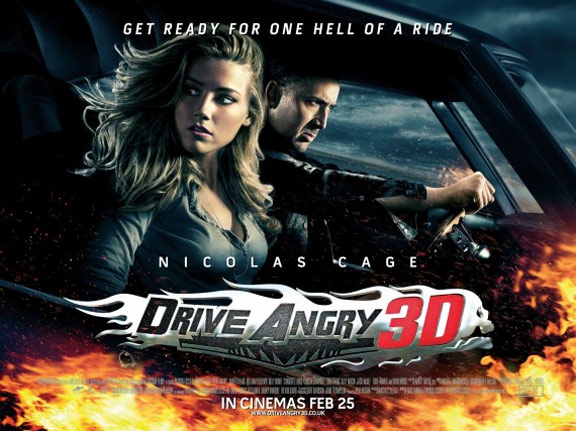 Drive Angry 3D Poster #3