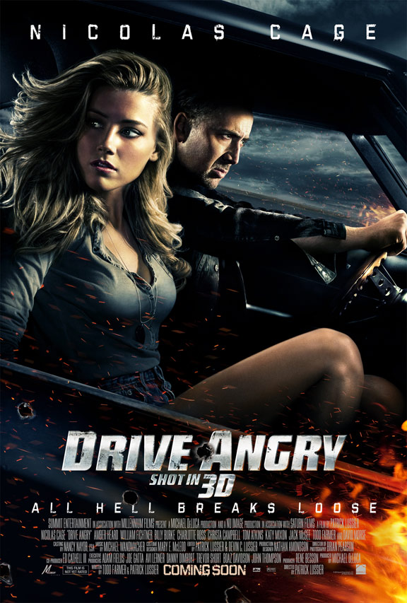 Drive Angry 3D Poster #1