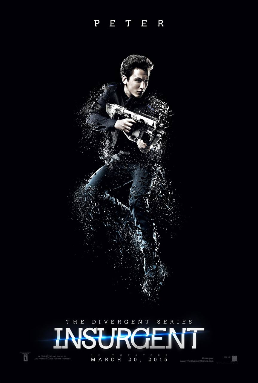 The Divergent Series: Insurgent Poster #9