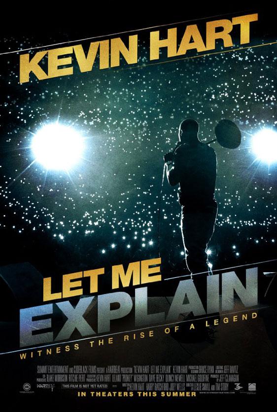 Kevin Hart: Let Me Explain Poster #1