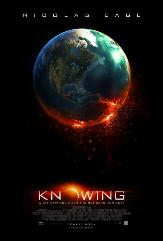 Knowing Poster #1
