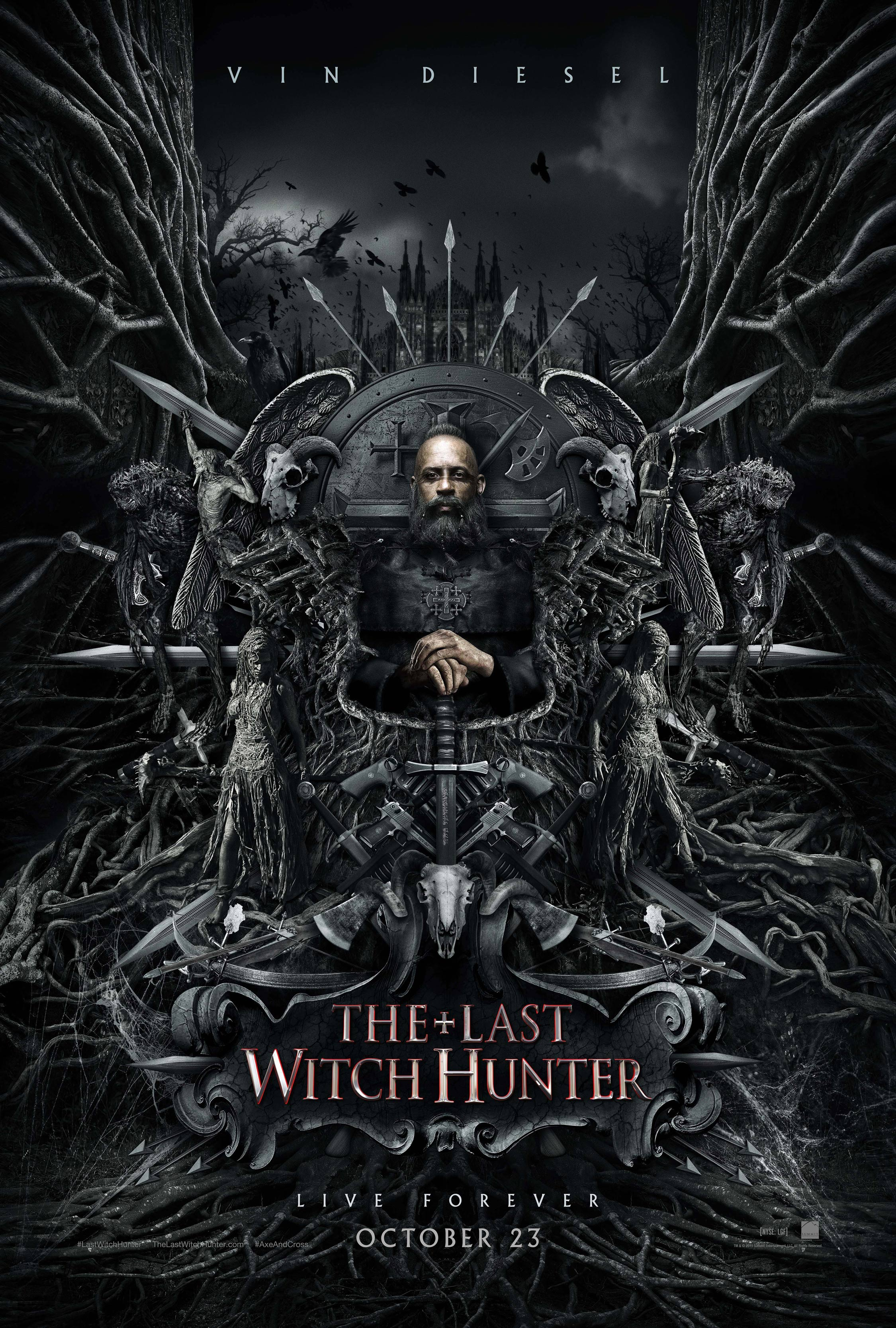 The Last Witch Hunter Poster #2