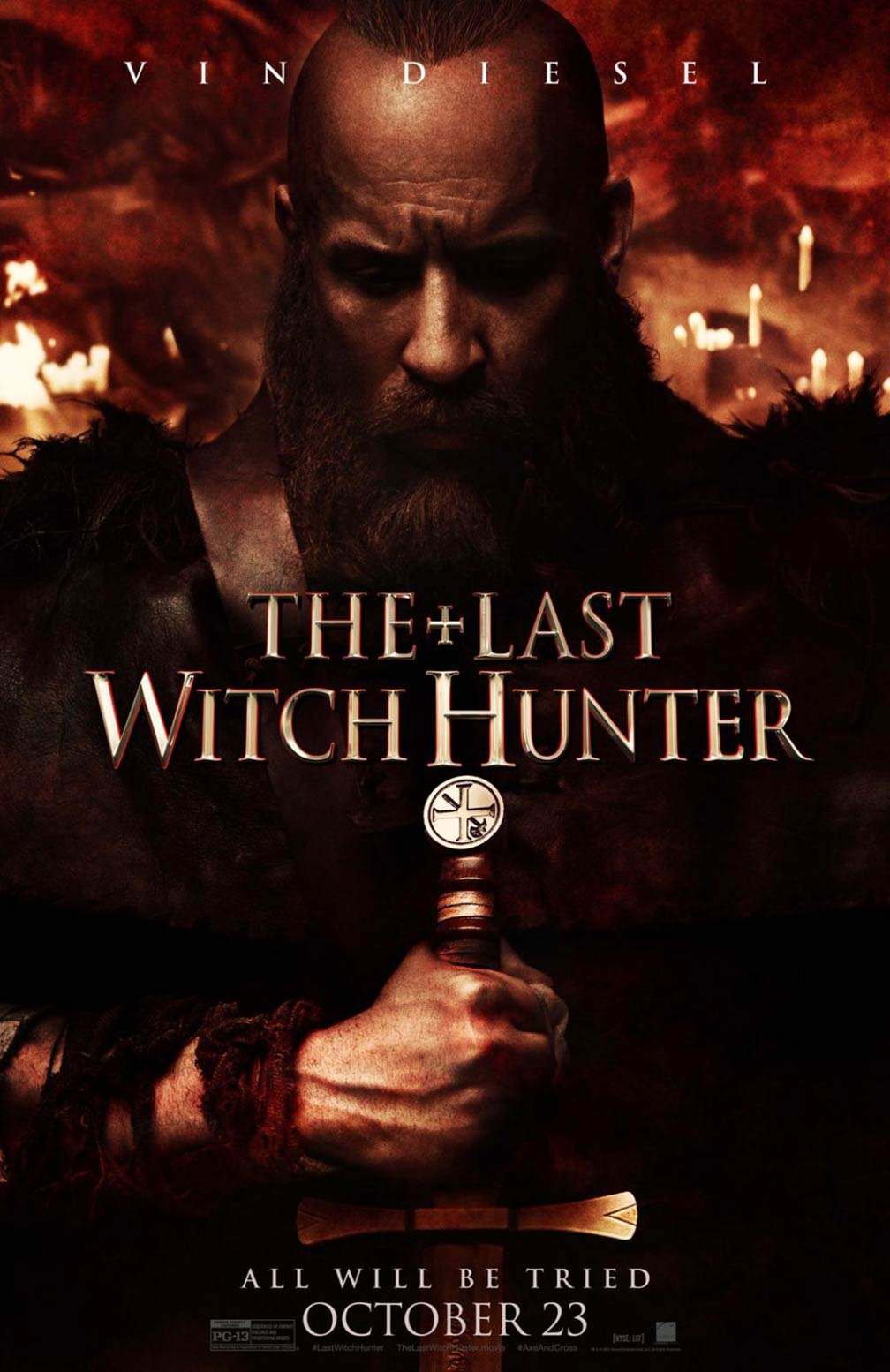The Last Witch Hunter Poster #9