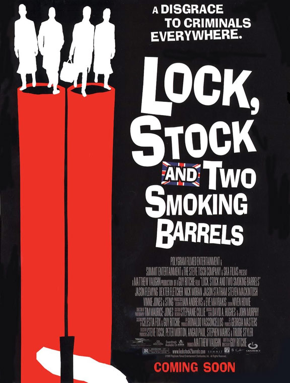Lock, Stock and Two Smoking Barrels Poster #1