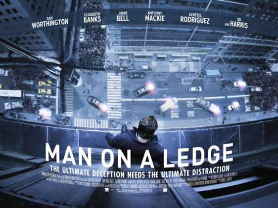 Man on a Ledge Poster #2