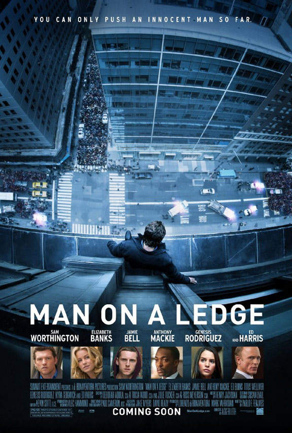 Man on a Ledge Poster #1