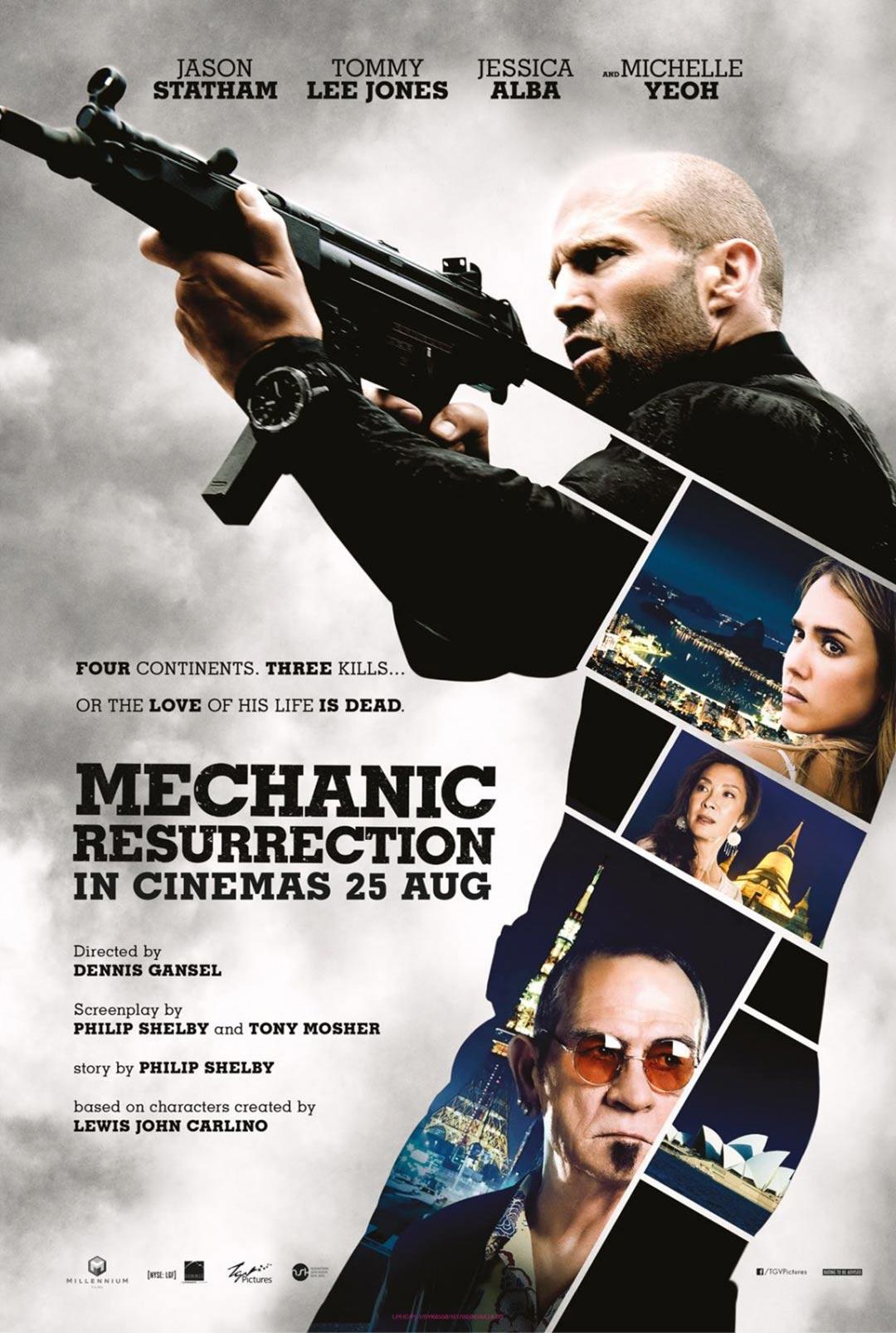 Mechanic: Resurrection Poster #2