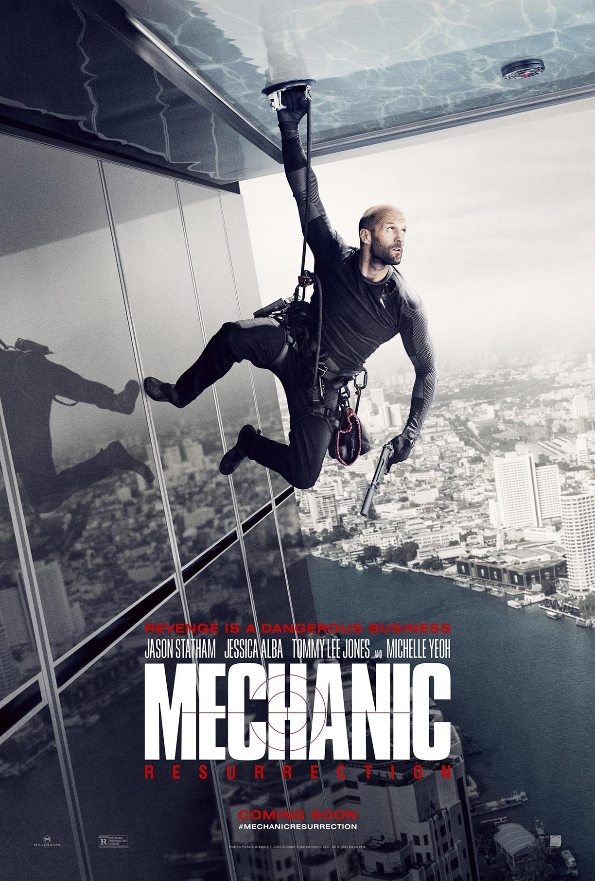 Mechanic: Resurrection Poster #1