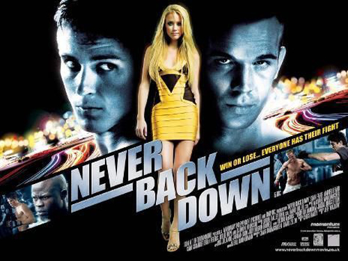 Never Back Down Poster #2