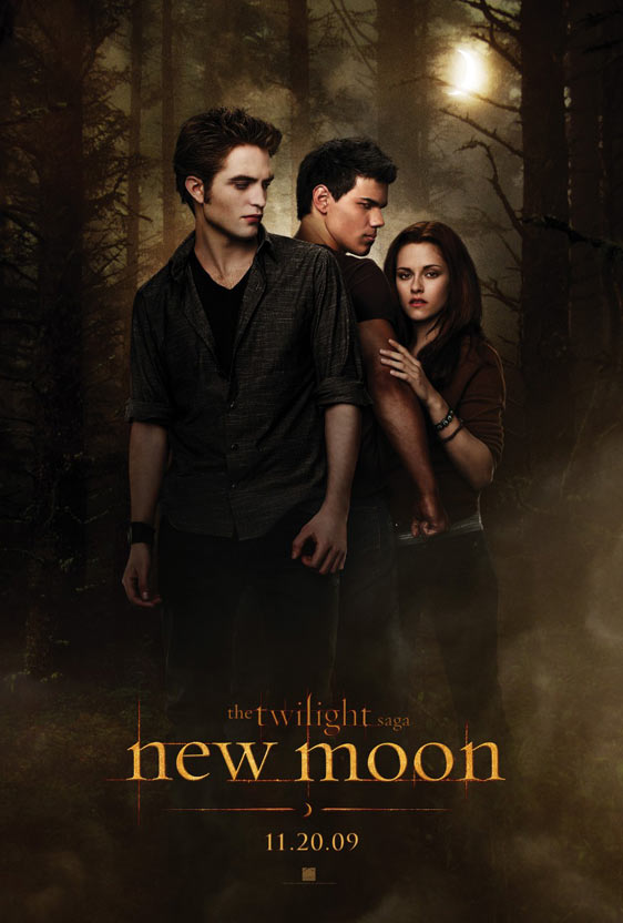 The Twilight Saga: New Moon Poster #1