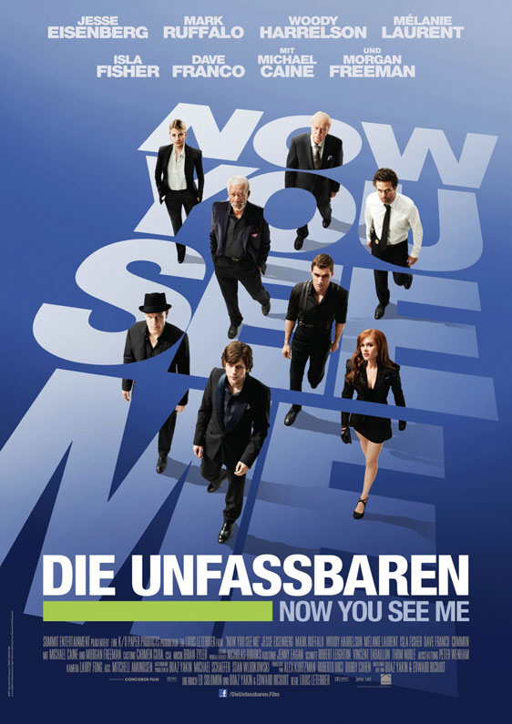 Now You See Me Poster #2