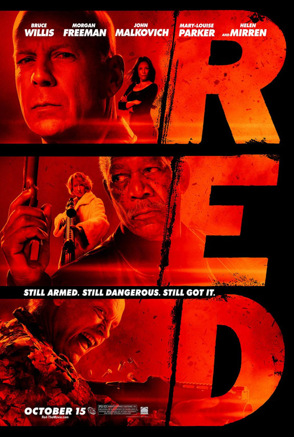 Red Poster #7