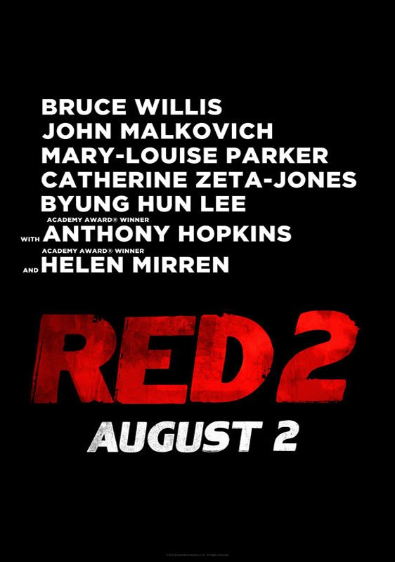 Red 2 Poster #1