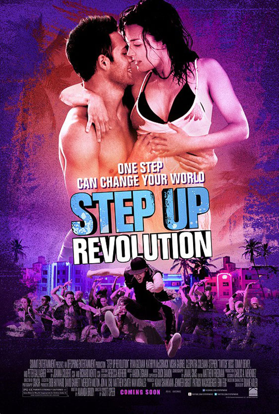 Step Up Revolution Poster #3