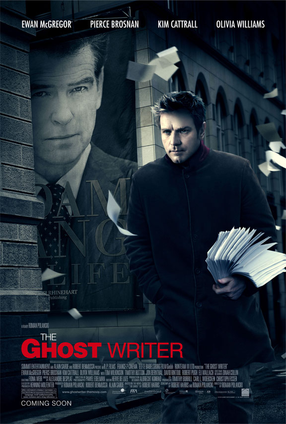 The Ghost Writer Poster #2