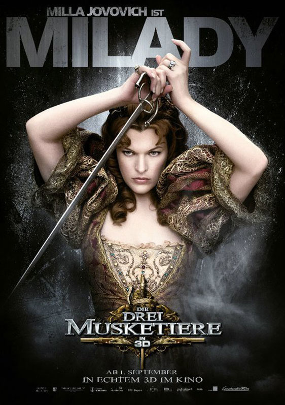 The Three Musketeers 3D Poster #11