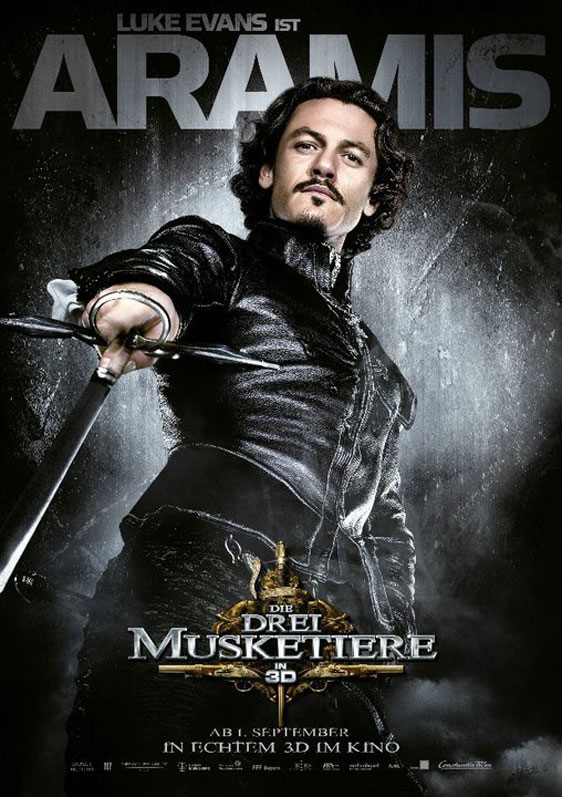 The Three Musketeers 3D Poster #13