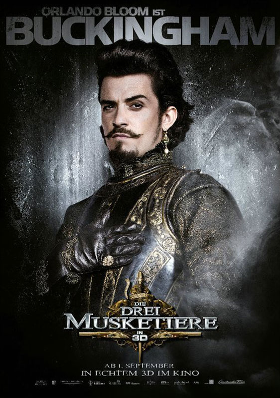 The Three Musketeers 3D Poster #14
