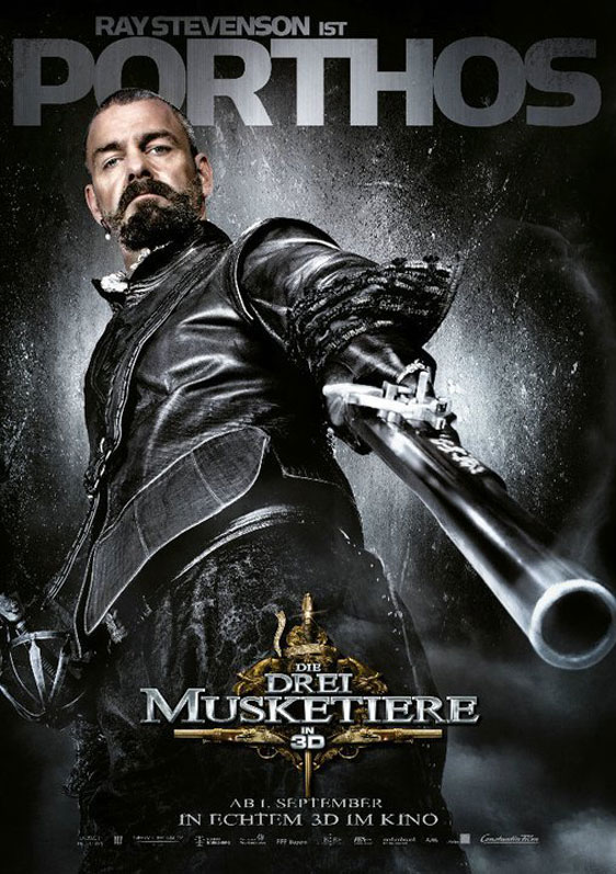 The Three Musketeers 3D Poster #15
