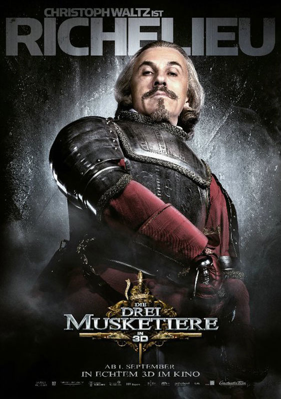The Three Musketeers 3D Poster #16